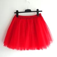 Červená tylová sukně a2361bf1c6