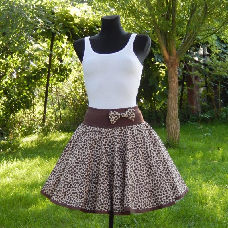 0ea4e81aba26 Kolová sukně pro milovníky kávy