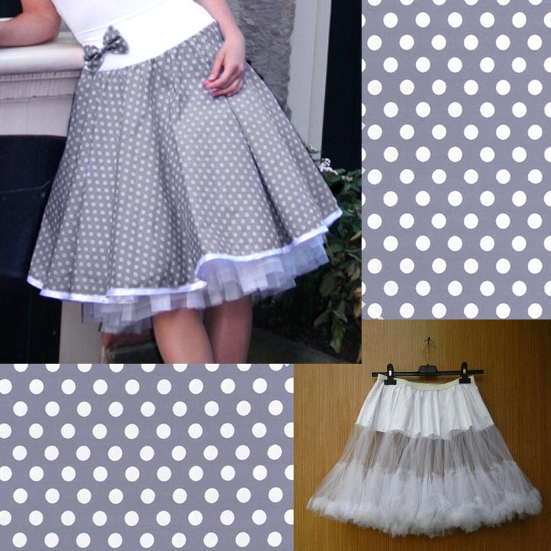 47d2009b4973 Kolová sukně + spodnička