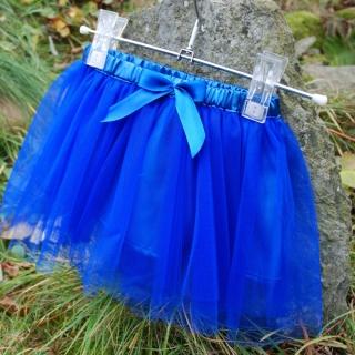 40c969e8882 Dětská královsky modrá tylová sukně empty
