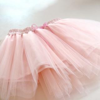 4def093e281 Dětská světle růžová tylová sukně empty